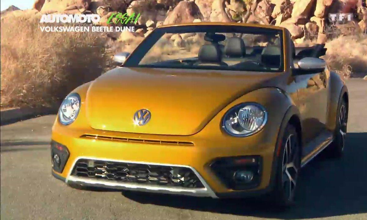 Essai Vidéo : La Volkswagen Coccinelle Dune 2016