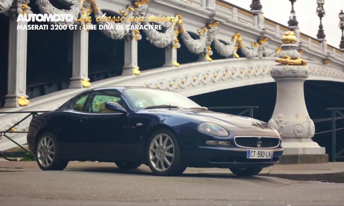 Chasse aux trésors : La Maserati 3200 GT