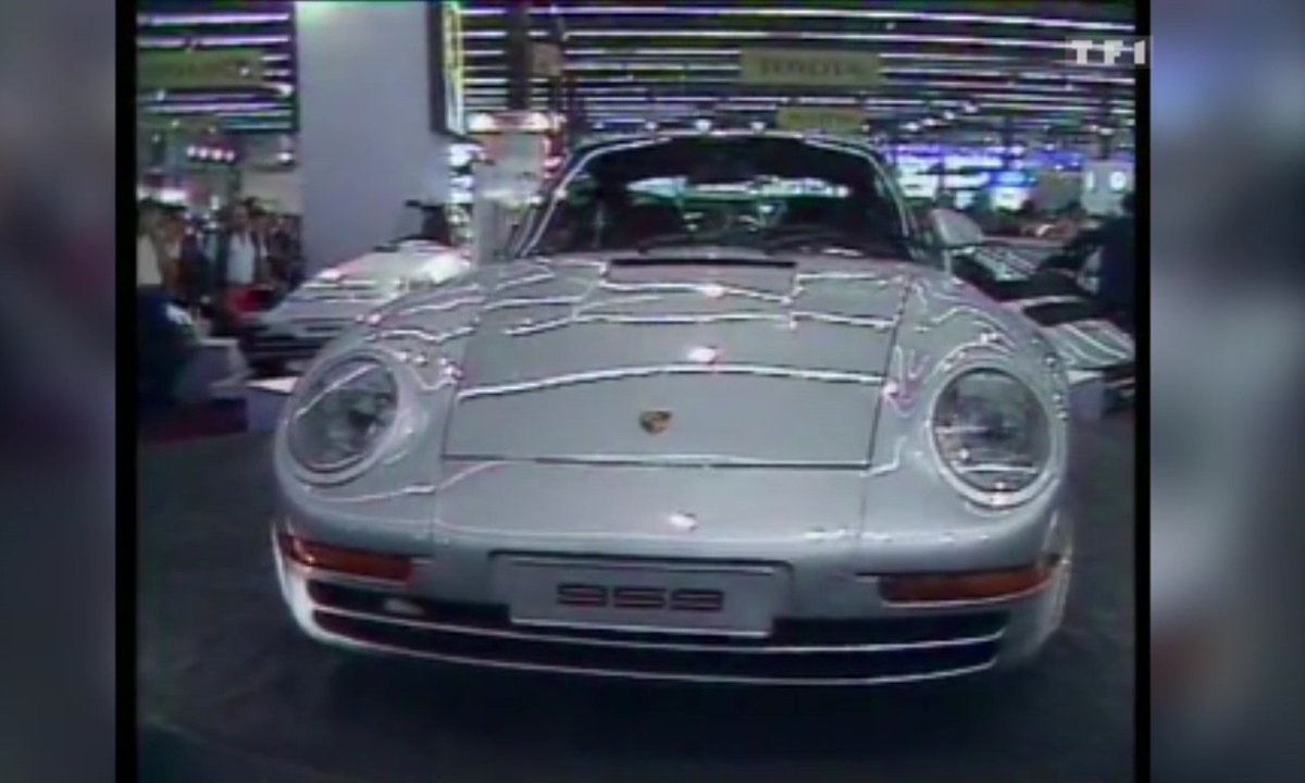 Luxe et sport au Salon Automobile de Paris – Automoto 11 octobre 1986