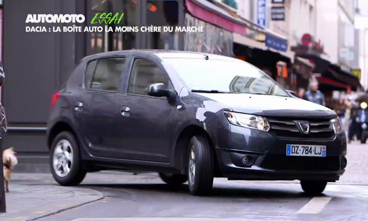 Essai Vidéo : Dacia Sandero Easy-R, la boite auto la moins chère