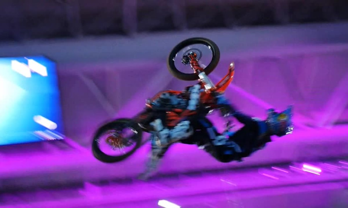 Teaser : Automoto au Supercross de Paris-Lille 2014