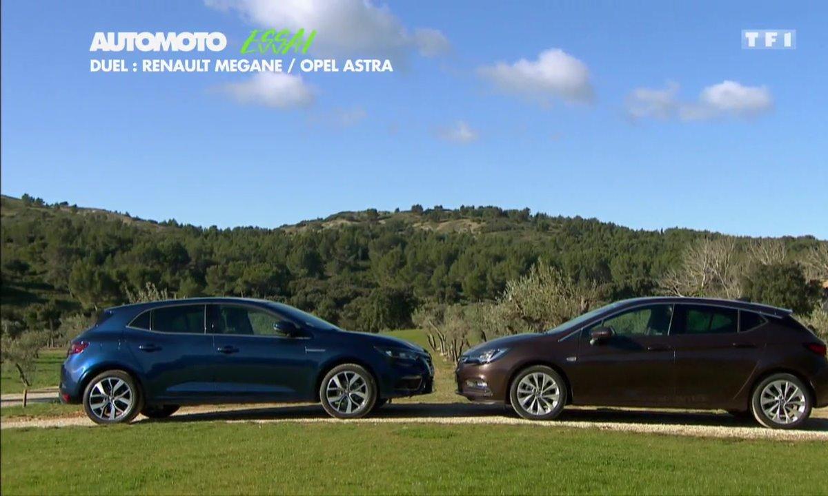 Essai Vidéo : Nouvelle Opel Astra vs Renault Mégane 2016