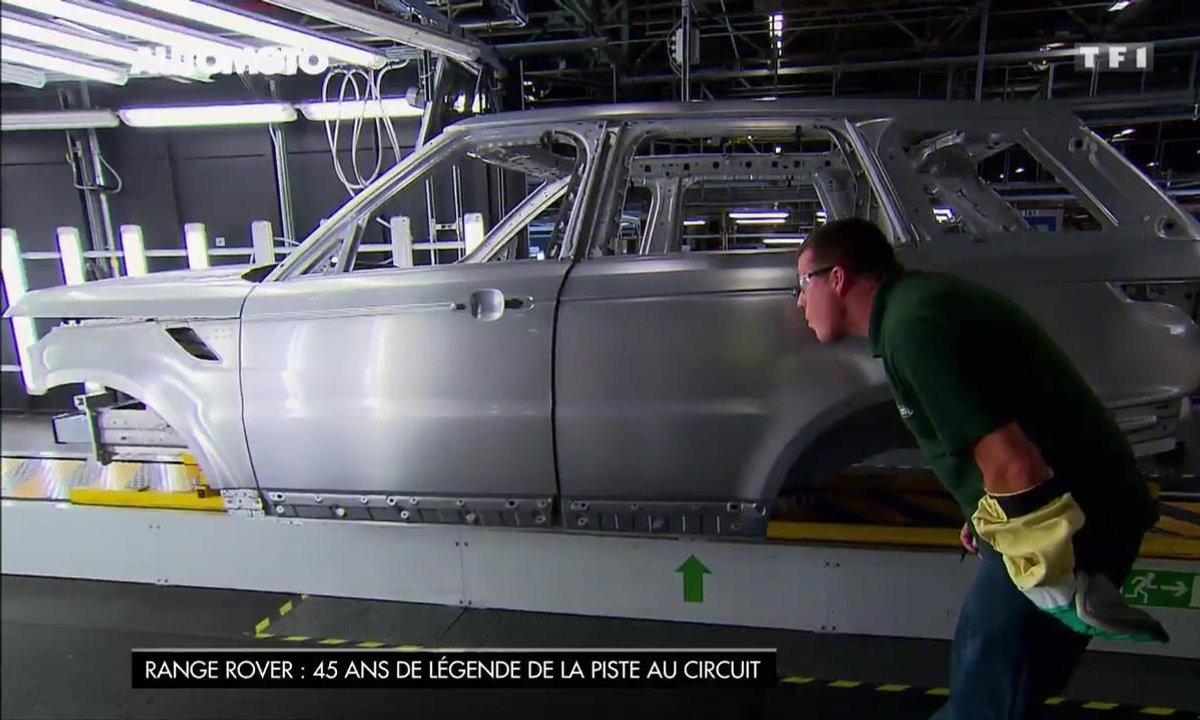 45 ans de Range Rover : comment sont-ils fabriqués ?