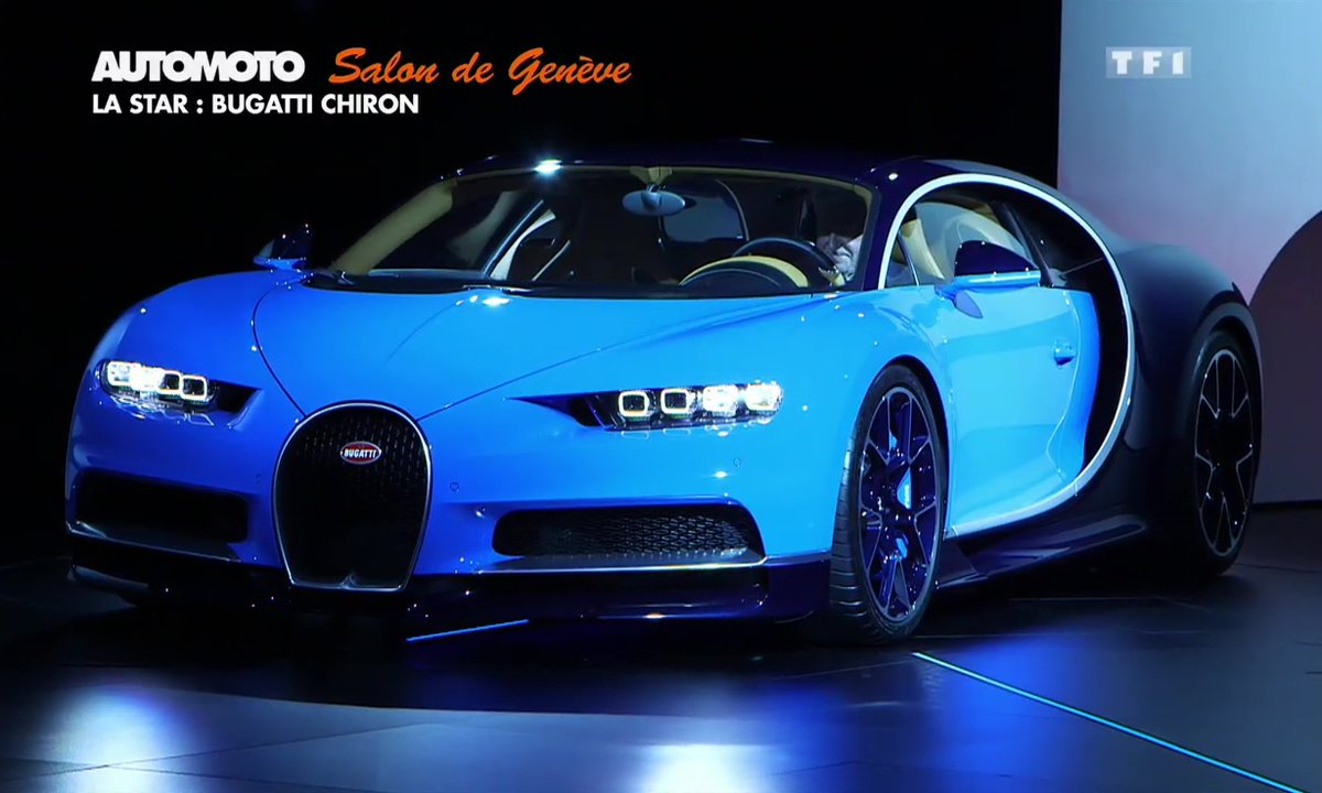 Bugatti Chiron : la star du Salon de Genève 2016