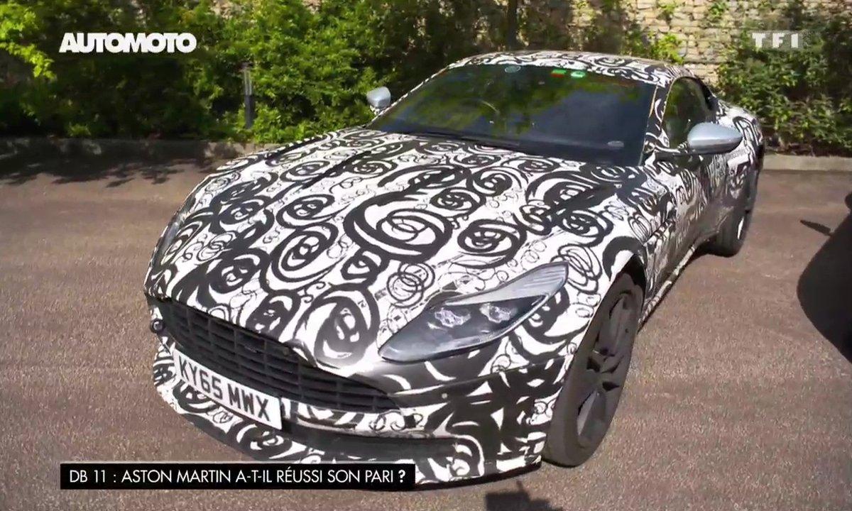 Après la DB11, Aston Martin confirme le crossover DBX et l'électrique !