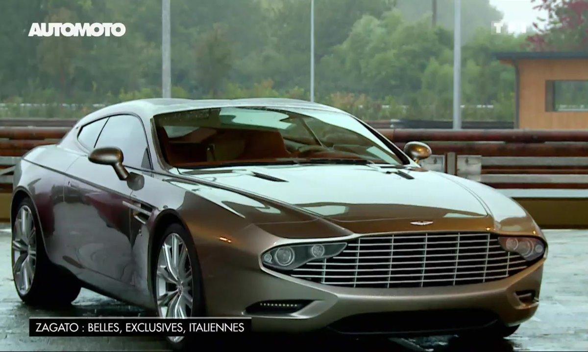 Aston Martin Virage Shooting Brake : la beauté unique de Zagato