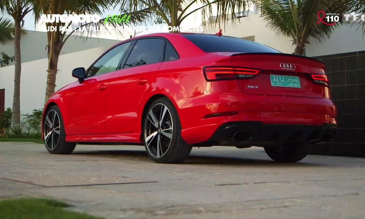 Essai Vidéo : Audi RS3 2017, la plus puissante des compactes