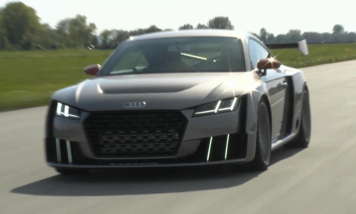 Audi TT Clubsport quattro turbo Concept 2015 : présentation officielle