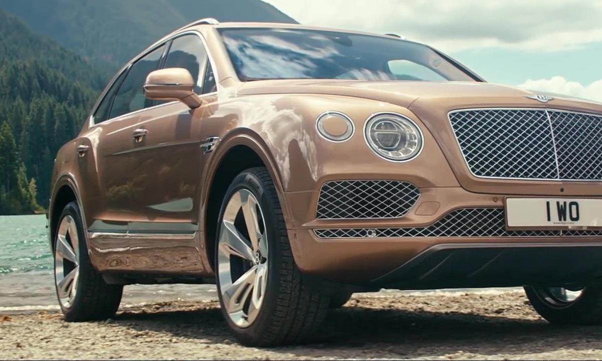 Bentley Bentayga 2016 : présentation officielle