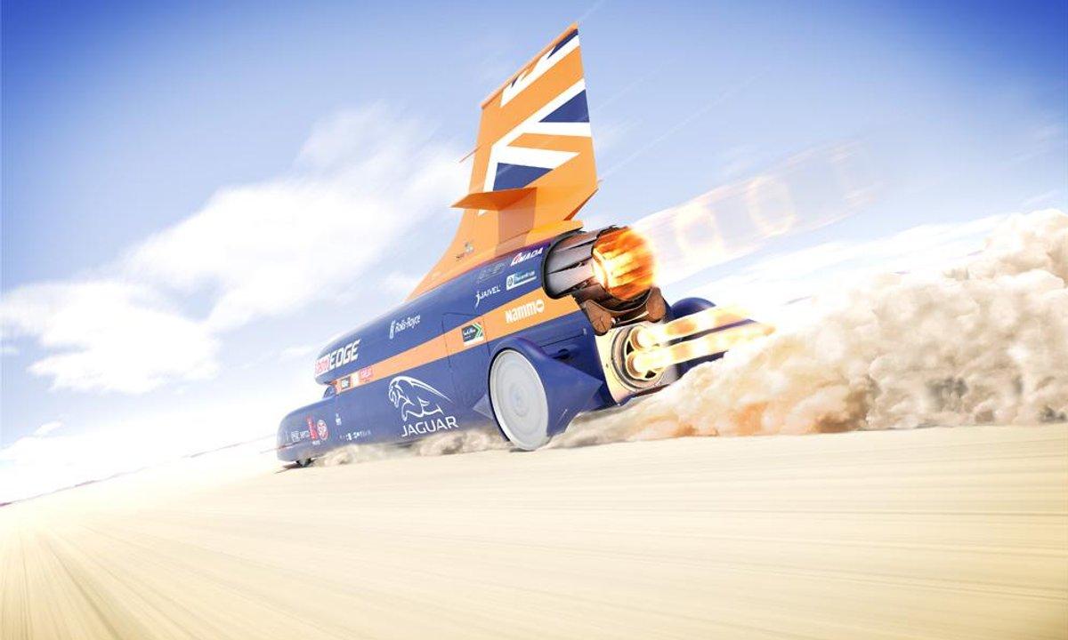 Bloodhound SSC : la voiture qui dépasse les 1.500 km/h