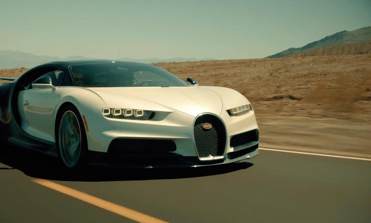 Bugatti Chiron : essais extrêmes dans le désert de l'ouest américain