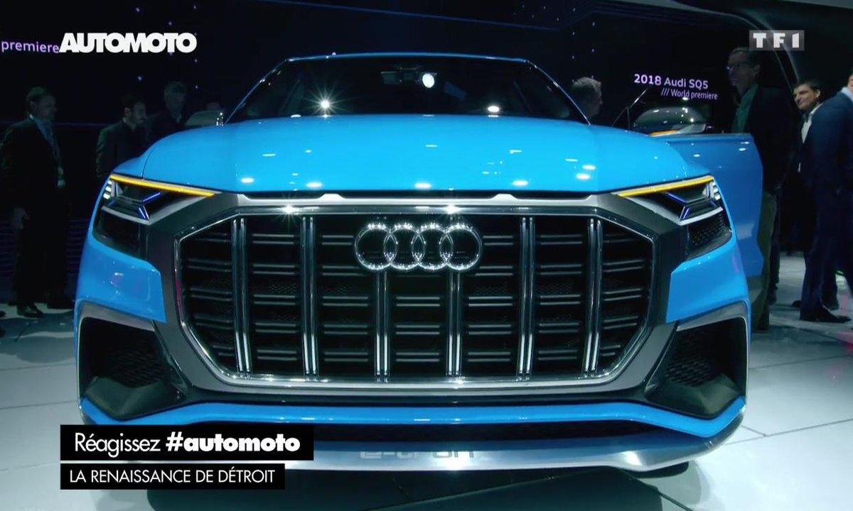 Salon de Detroit 2017 : Le concept-car Audi Q8 en détails