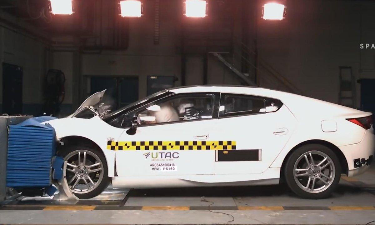 Le crash test de la MPM PS160 !