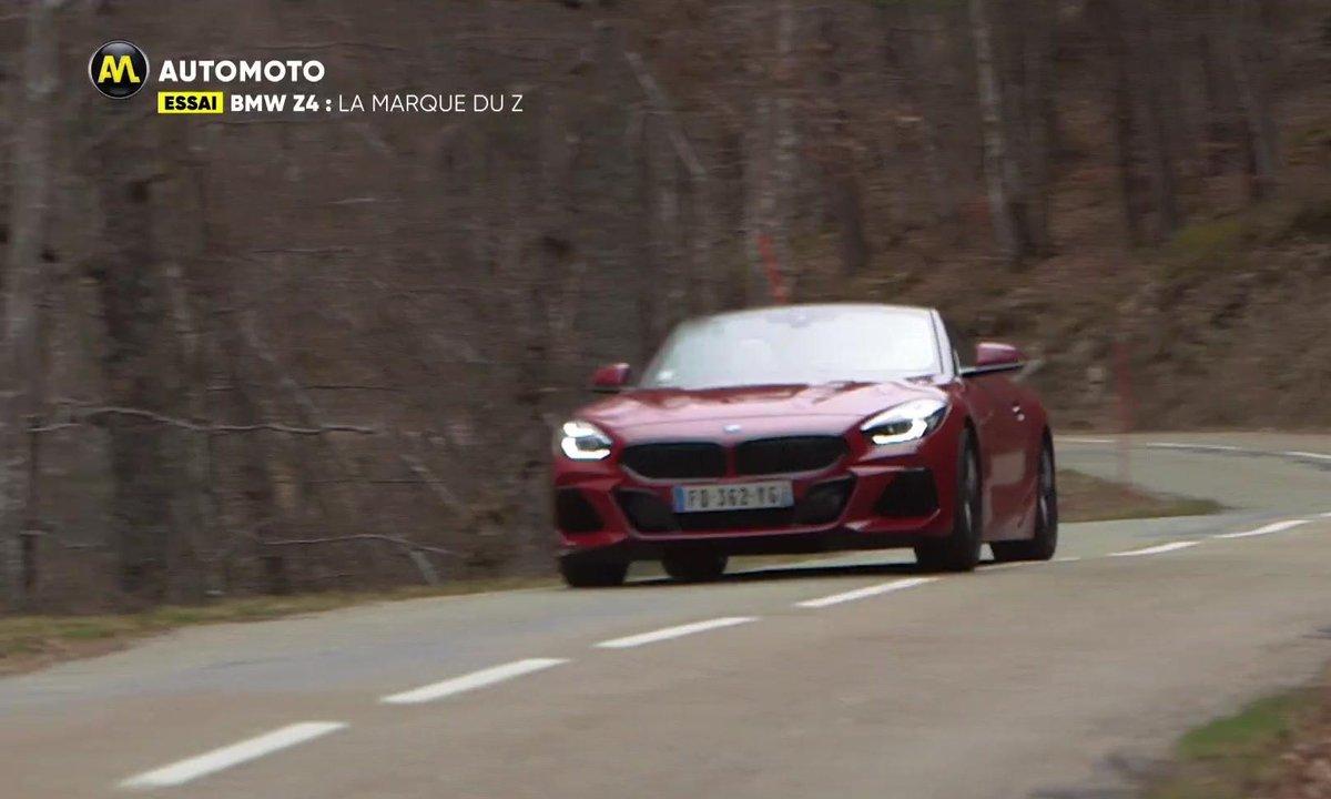 Essai - BMW Z4: La marque du Z