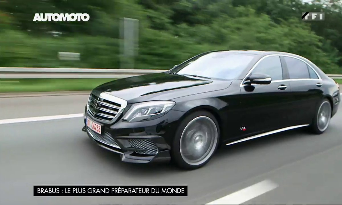 Essai de la Brabus Rocket 900, la super Mercedes Classe S