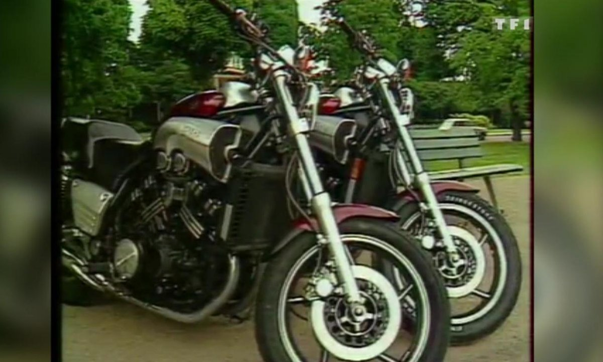 Essai de la Yamaha V-Max – Automoto du 23 août 1986