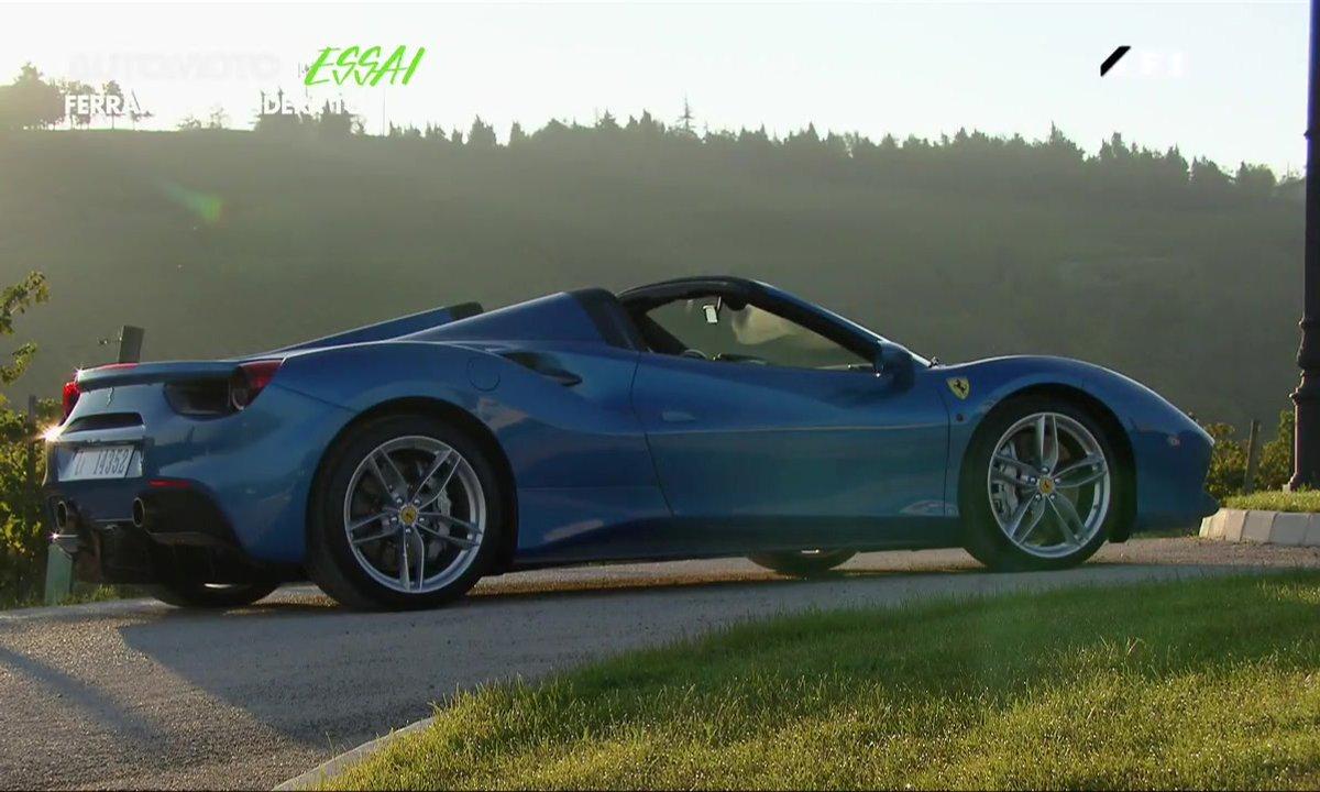 Essai : Ferrari 488 GTB Spider
