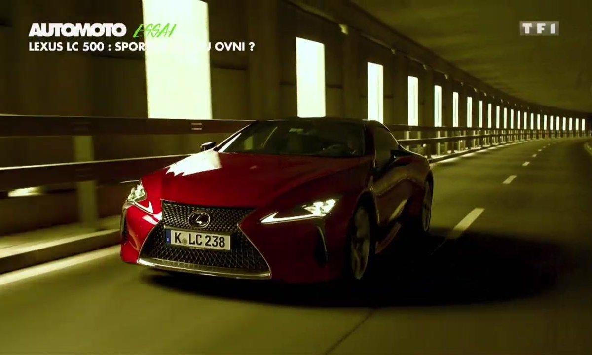 Essai : Lexus LC 500, sportive, GT, ou OVNI ?