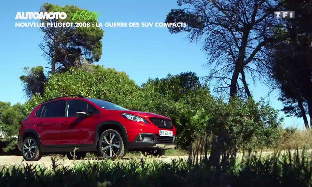 Essai Vidéo : la Peugeot 2008 restylée peut-elle inquiéter le  Captur ?