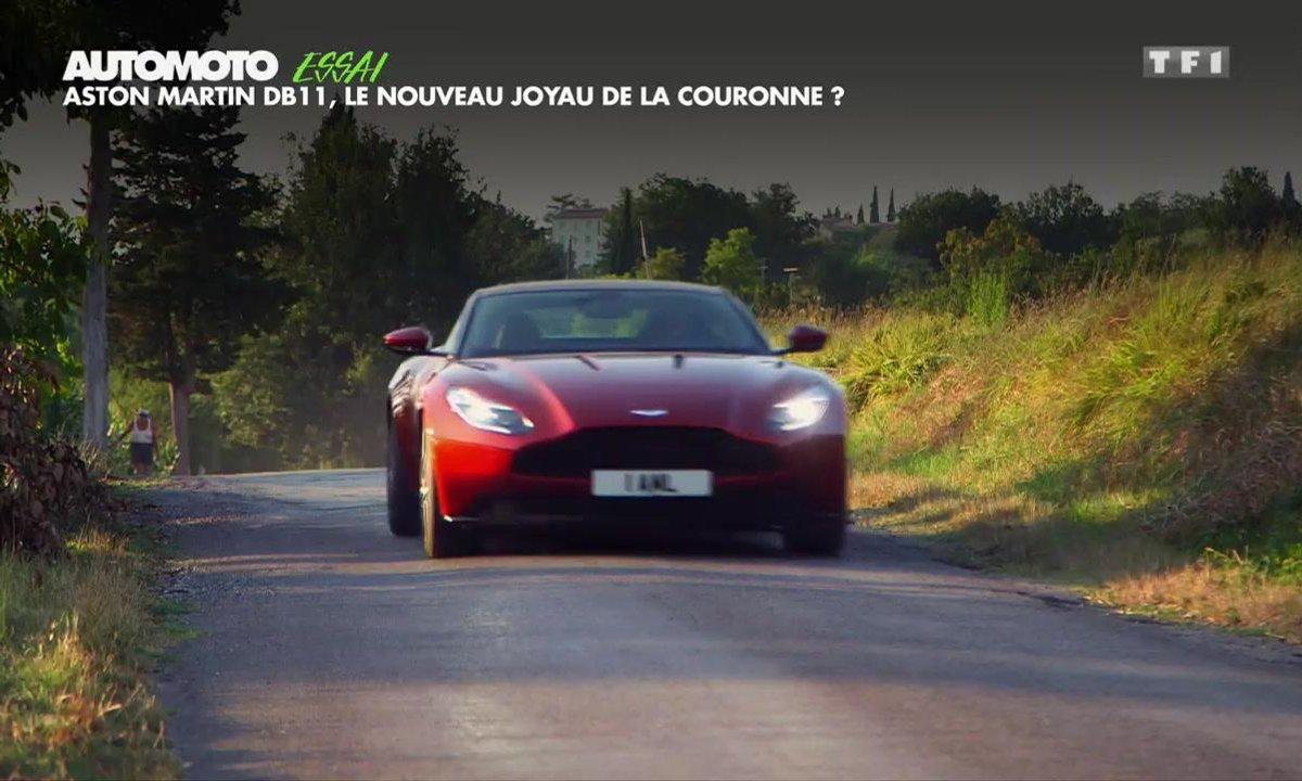 Essai Vidéo : Aston Martin DB11, nouvelle ère