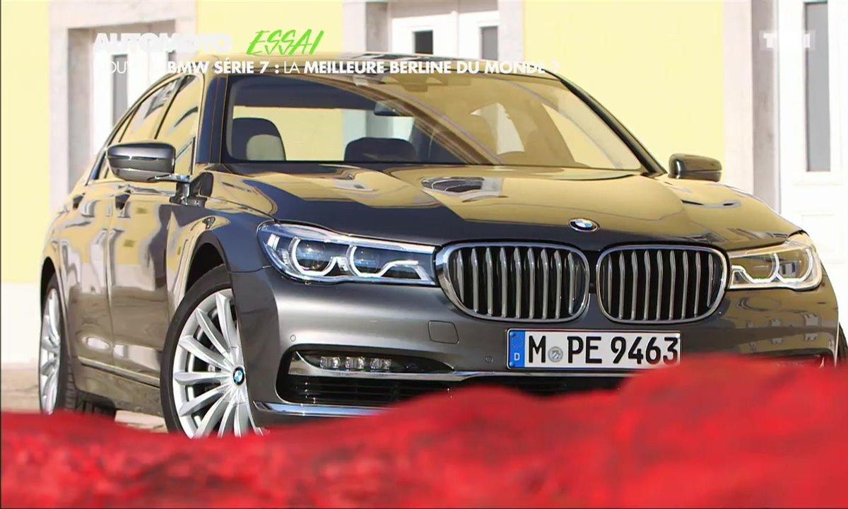 "Essai Vidéo : BMW Série 7 2015, la limousine ""techno-parade"""