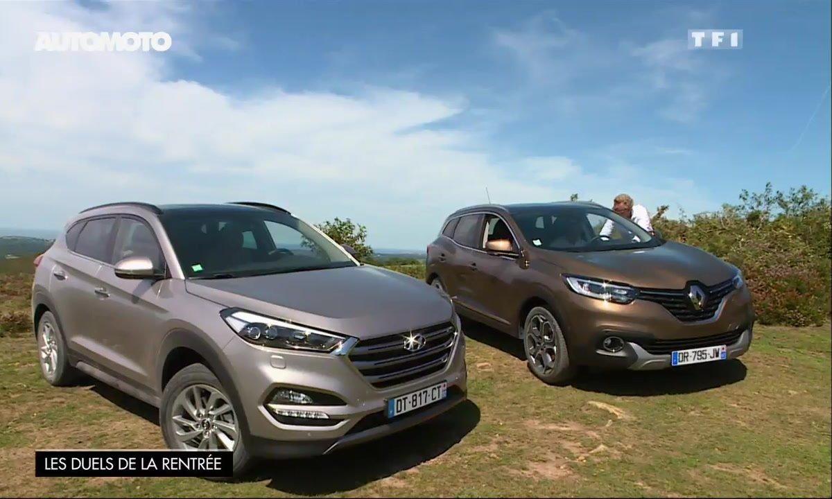Essai Vidéo : Hyundai Tucson vs Renault Kadjar, quel crossover est le plus efficace ? (2/2)