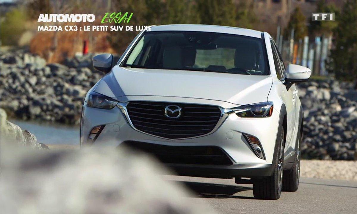 Essai Vidéo : Mazda CX-3, l'autre petit SUV