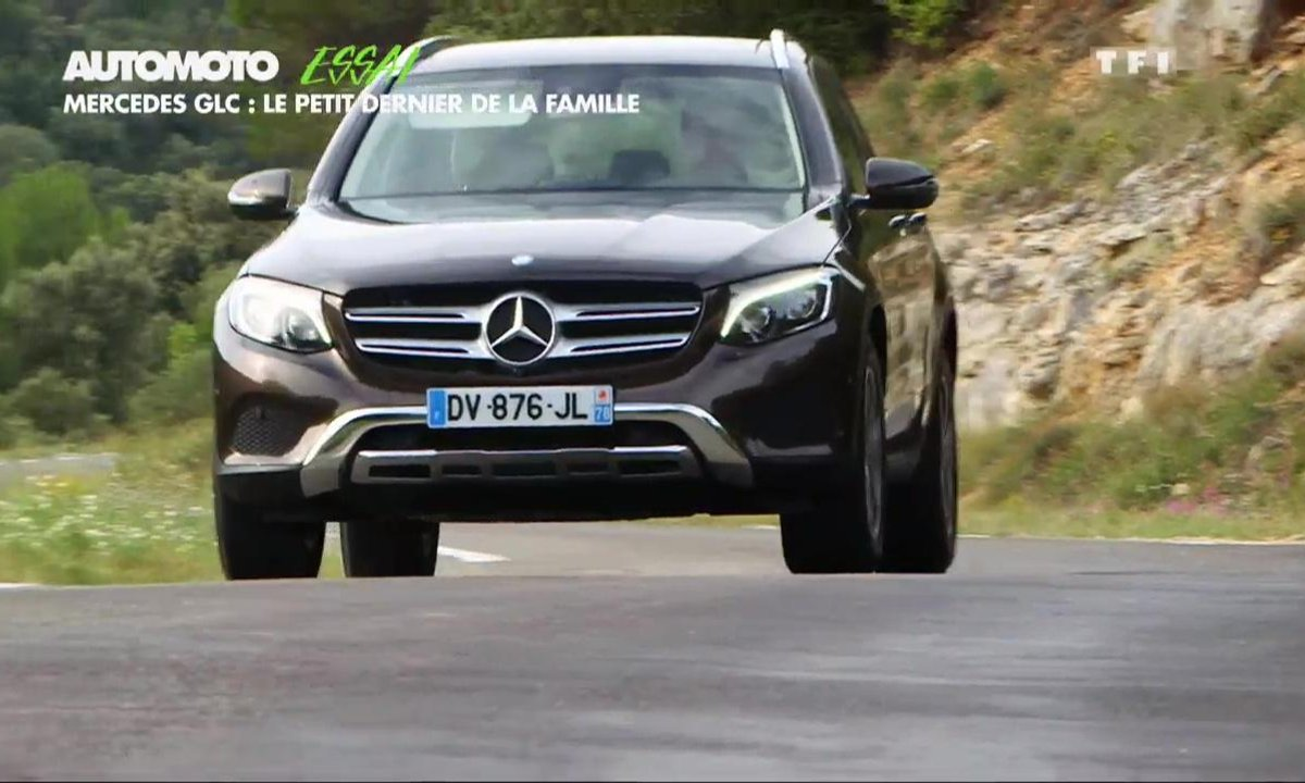 Essai Vidéo : le Mercedes-Benz GLC 2015