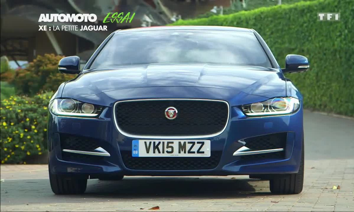 Essai Vidéo : la nouvelle berline Jaguar XE