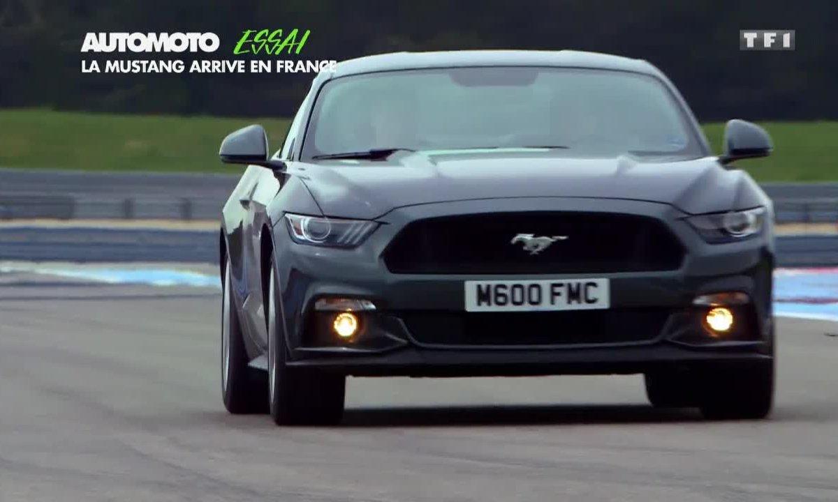Essai Vidéo : La nouvelle Ford Mustang débarque en France