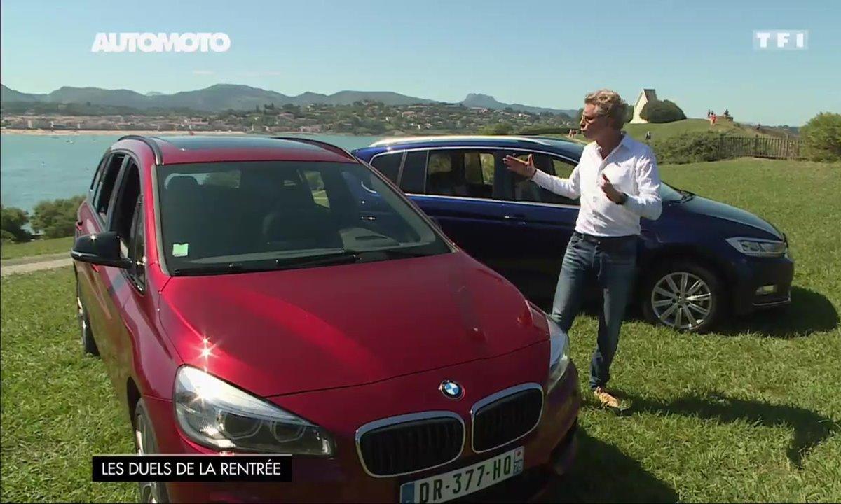 Essai Vidéo : Volkswagen Touran vs BMW Série 2 Gran Tourer, quel monospace est le plus pratique ? (1/2)