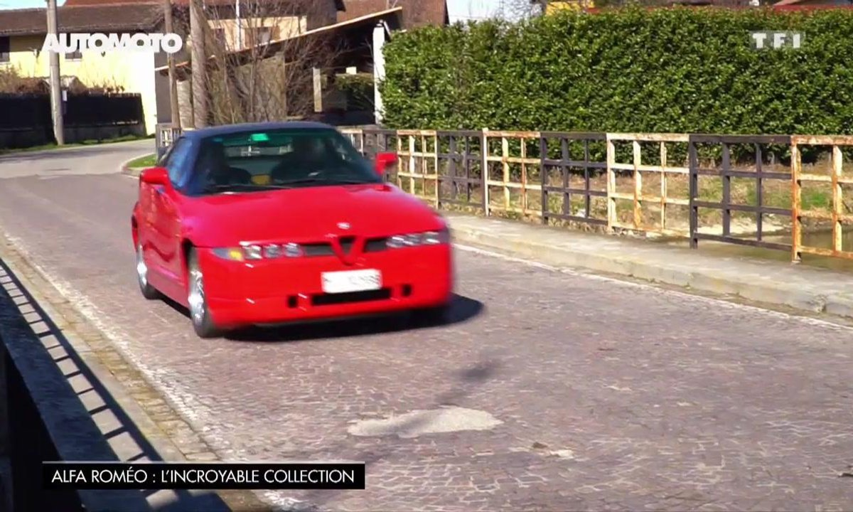 Essai Vintage : L'Alfa Romeo SZ