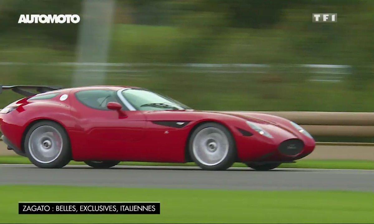 Exclusivité : la Maserati Mostro Zagato sur circuit