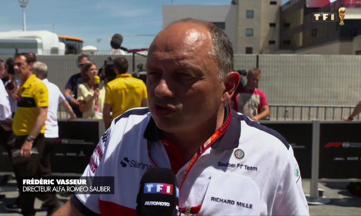F1 - GP de France : Charles Leclerc chez Ferrari ? Gasly et Vasseur répondent