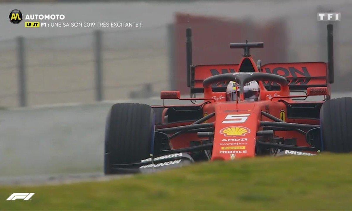 Formule 1 : Une saison 2019 très excitante !