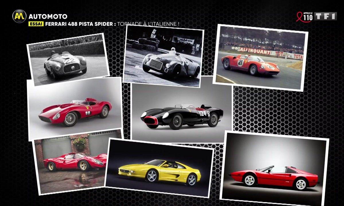 Ferrari 488 Pista Spider : tornade à l'italienne