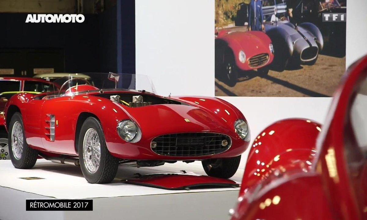Les Ferrari 166, 250 LM et Dino 206P Speciale de Rétromobile 2017