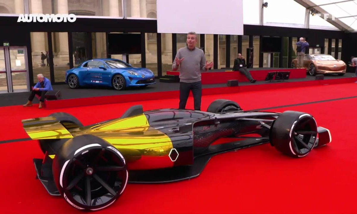 Festival Automobile International : la Renault R.S. 2027 Vision