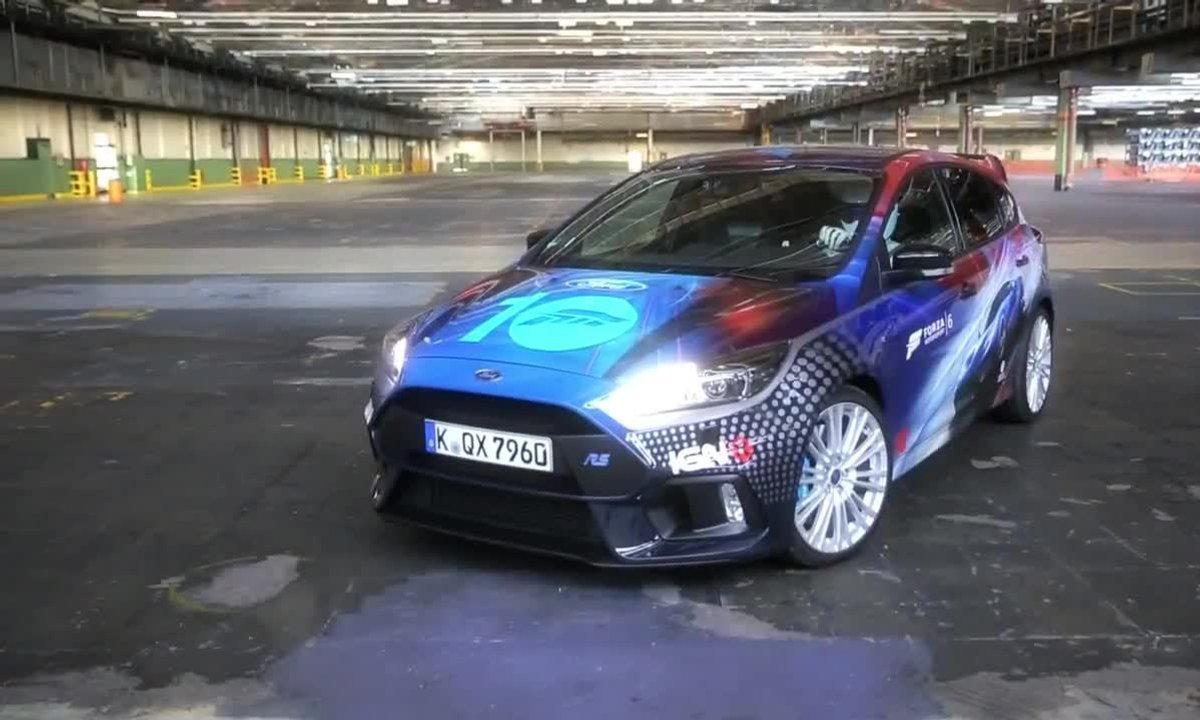 """Ford Focus RS """"Forza"""" : présentation officielle"""