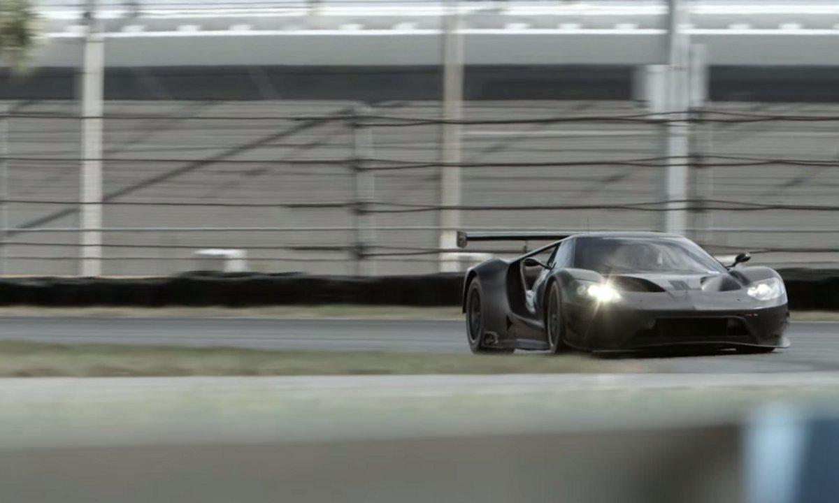 La Ford GT fait ses essais à Daytona !