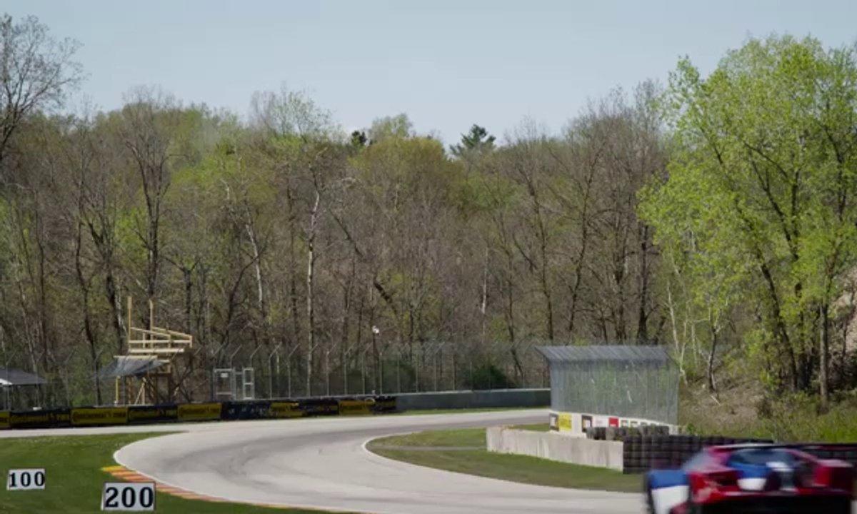 Ford GT : tour d'essai avant les 24h du Mans
