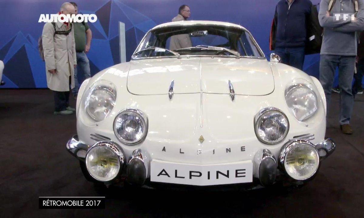 Peugeot, Citroën, Renault, Alpine : les françaises du Salon Rétromobile 2017