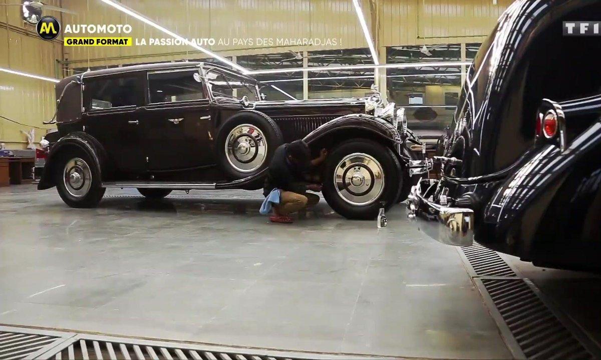 Grand Format : La passion auto au pays des Maharadjas