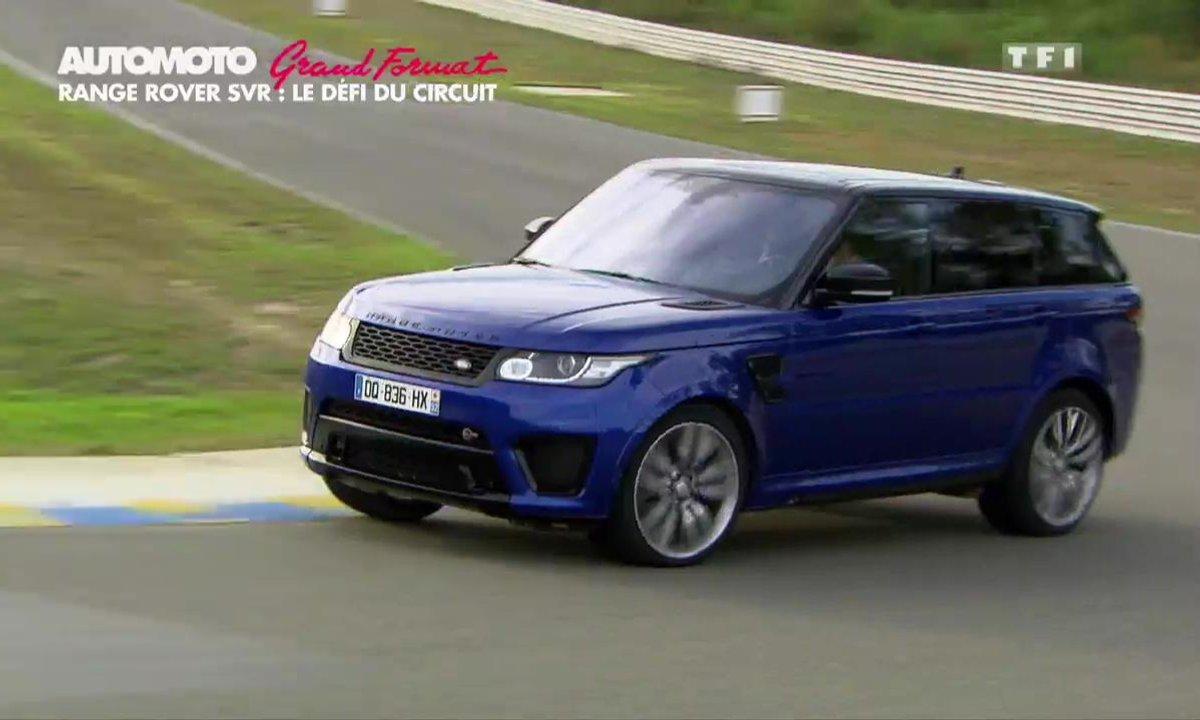 Grand Format : Le Range Rover Sport SVR sur circuit