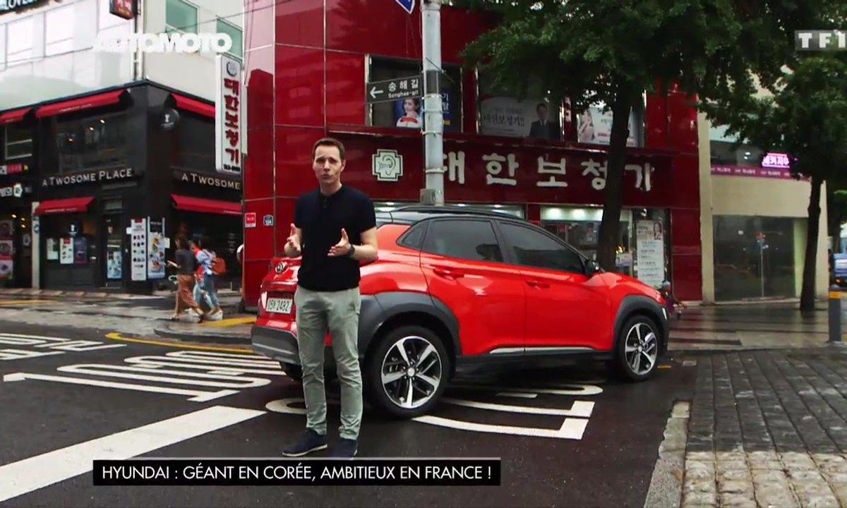 Hyundai, géant en Corée, ambitieux en France