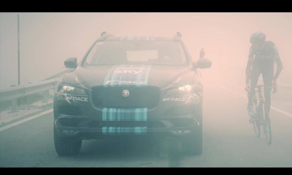 Jaguar F-Pace 2015 : le prototype du Tour de France