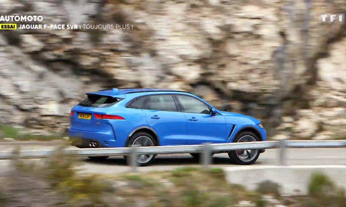 Jaguar F-Pace SVR, toujours plus !