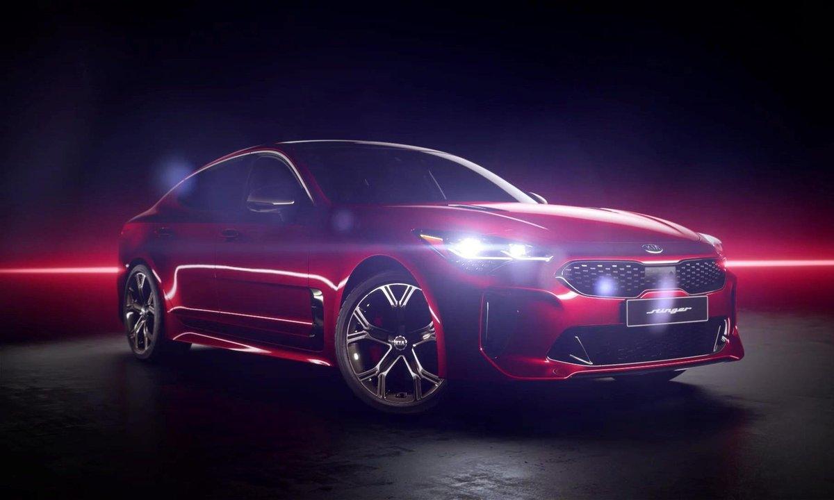 Kia Stinger GT 2017 : présentation officielle