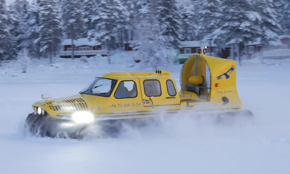 Teaser : Automoto affronte l'hiver en Laponie