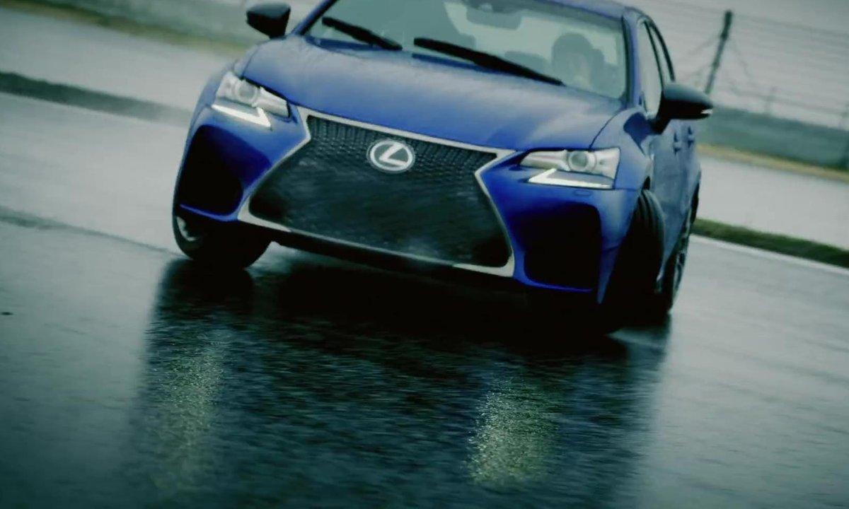 La Lexus GS F 2015 en action sur circuit !